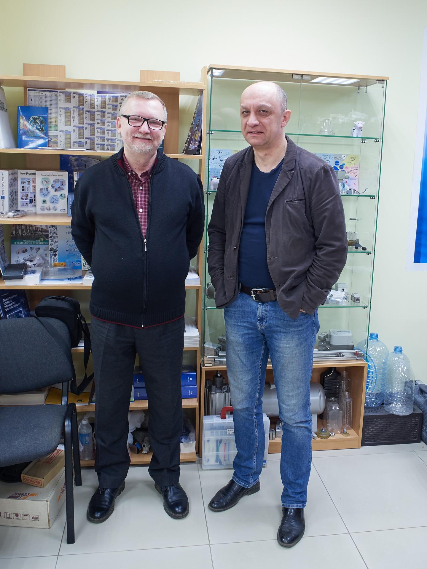 Владимир Дмитриев SMC ЭС ЭМ СИ Пневматик