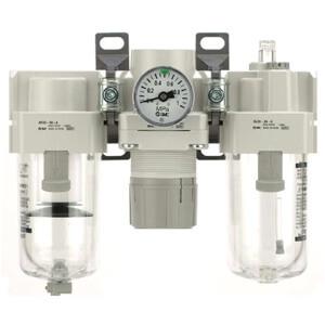 Фильтр-регулятор-маслораспылитель AC-A и AC-B