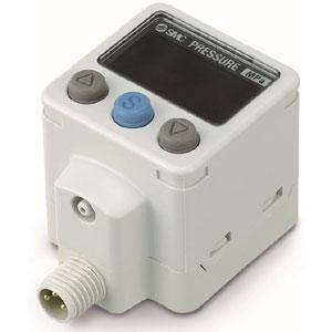 Прецизионный датчик давления/вакуума с двухцветной цифровой индикацией ZSE40A/ISE40A
